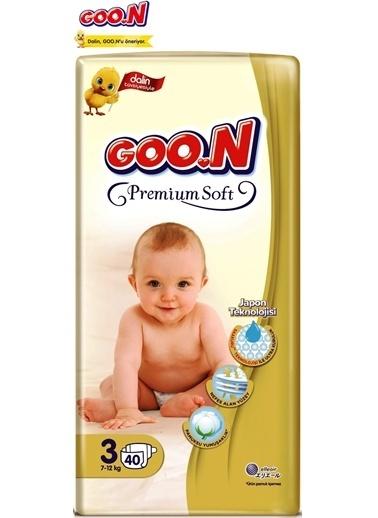 istegelsin Goon Premium Soft Bant Jumbo Bebek Bezi No:3 7-12 Kg 40 Adet Renksiz
